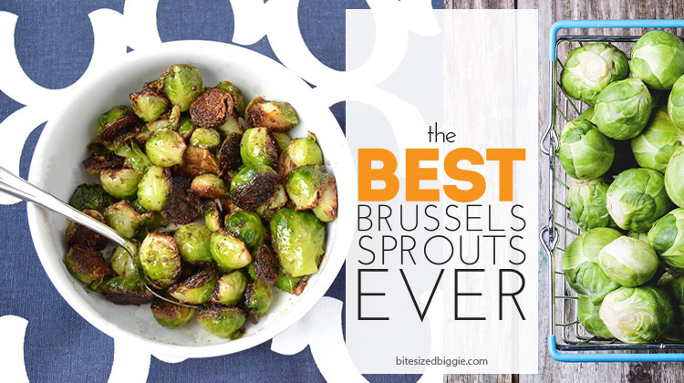 The best, most mouth-watering brussels sprout recipe EVER! Seriously!