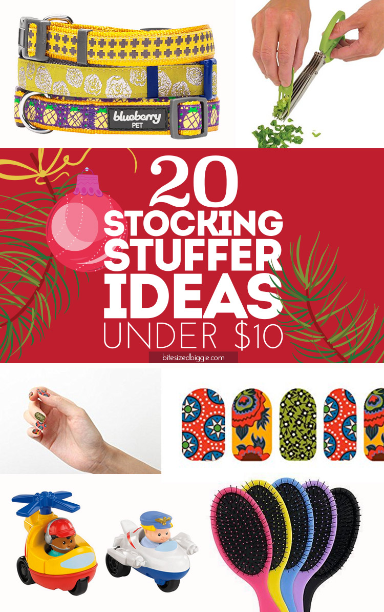20 FUN stocking stuffer ideas for under $10 each!