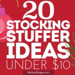 20 Stocking Stuffer Ideas Under $10