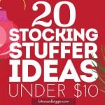20 Stocking Stuffer Ideas Under $10