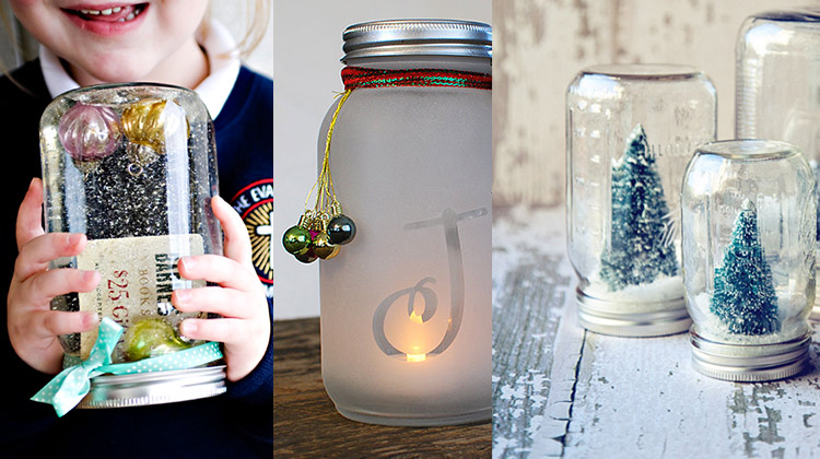 Mason Jar Holiday Gift Ideas