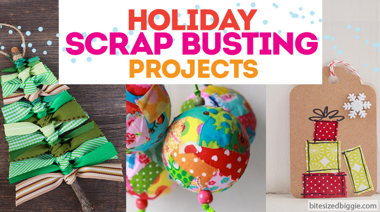 Holiday Scrap Buster Project ideas!