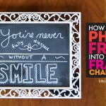 How to Turn a Picture Frame into a Framed Chalkboard