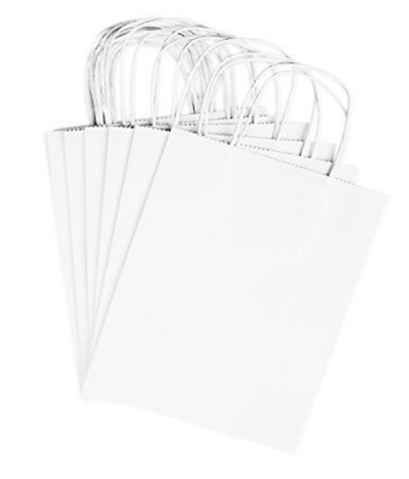 Blank White Gift Bags