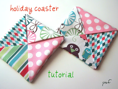 holiday coaster tutorial