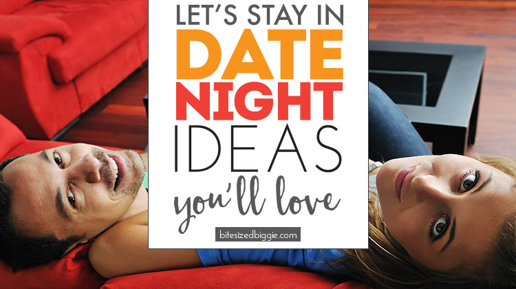 At Home Date Night Ideas you'll LOVE!