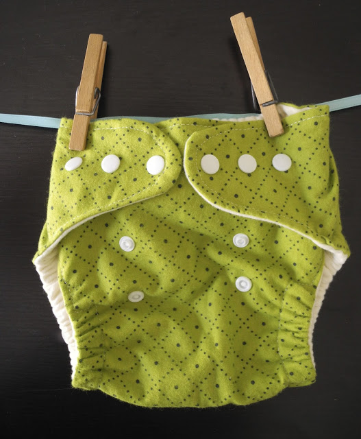 Diaper cover tutorial with snaps