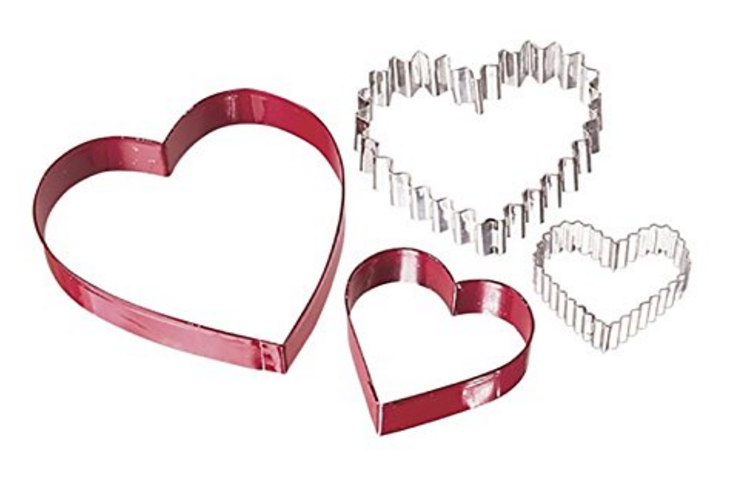 Wilton Heart Shaped Cookie and food cutter