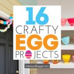 Outside the Basket – Plastic Egg Ideas