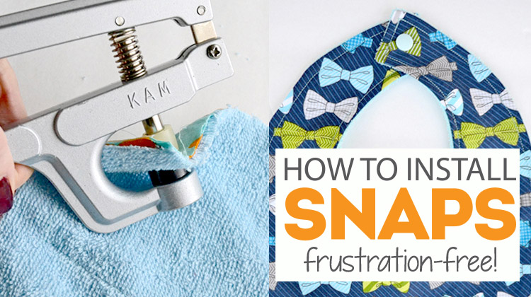 Make Snapping a Snap! How to Install KAM Snaps - Bite Sized