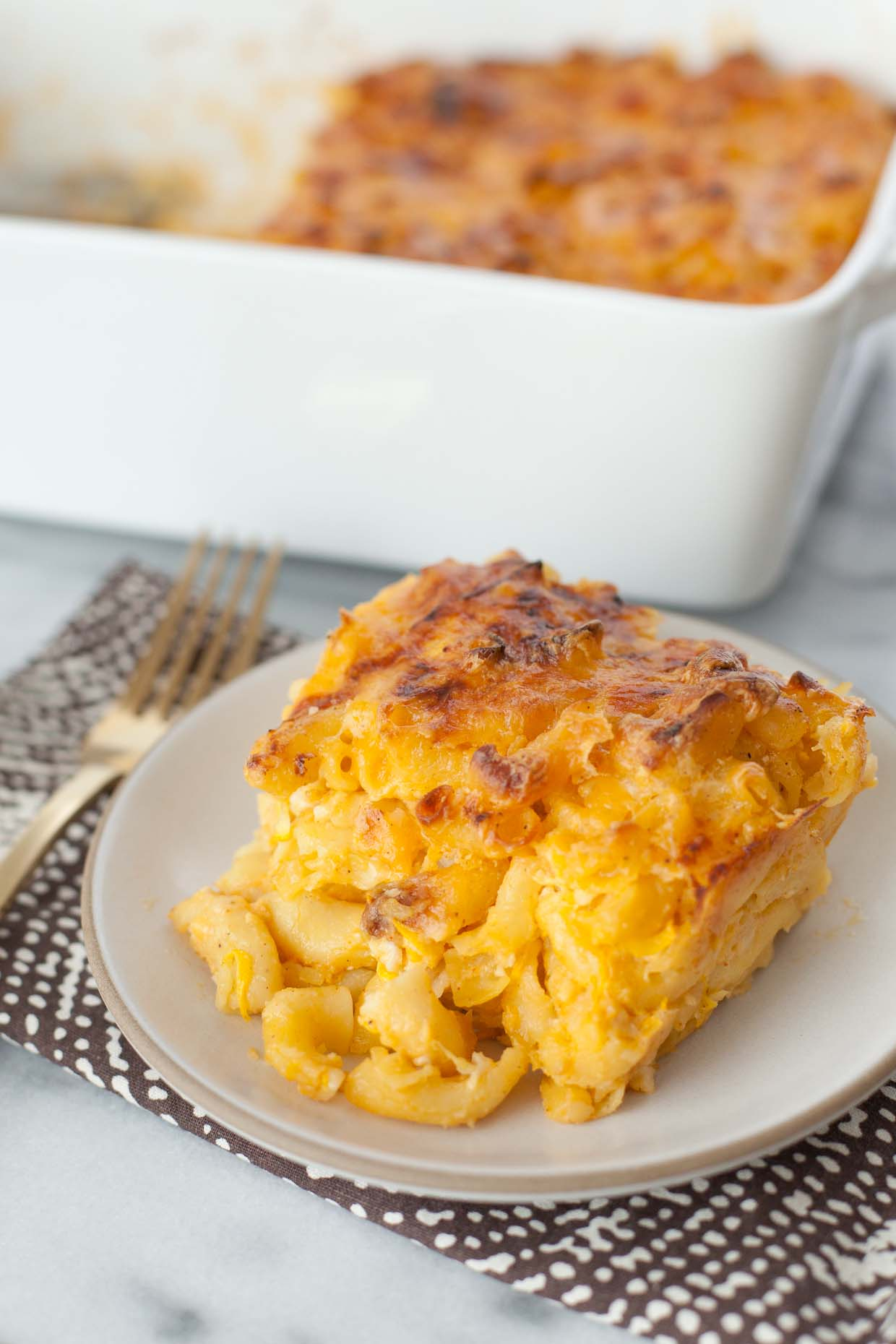 Macaroni and Cheese with hidden vegetables