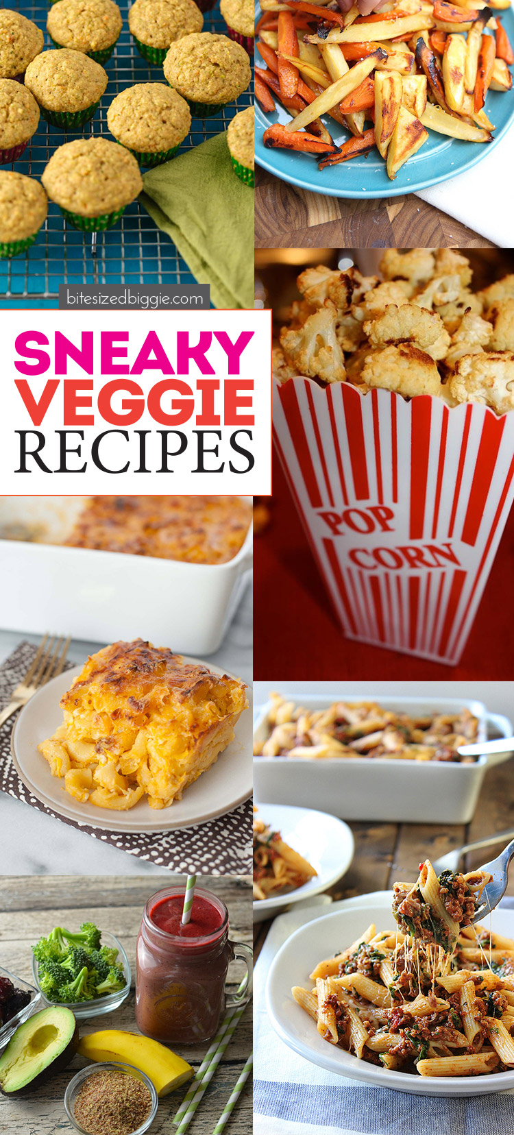 Sneaky veggie recipes - your guests will have no idea how healhty these are (unless you tell them) because these are SO DELICIOUS!