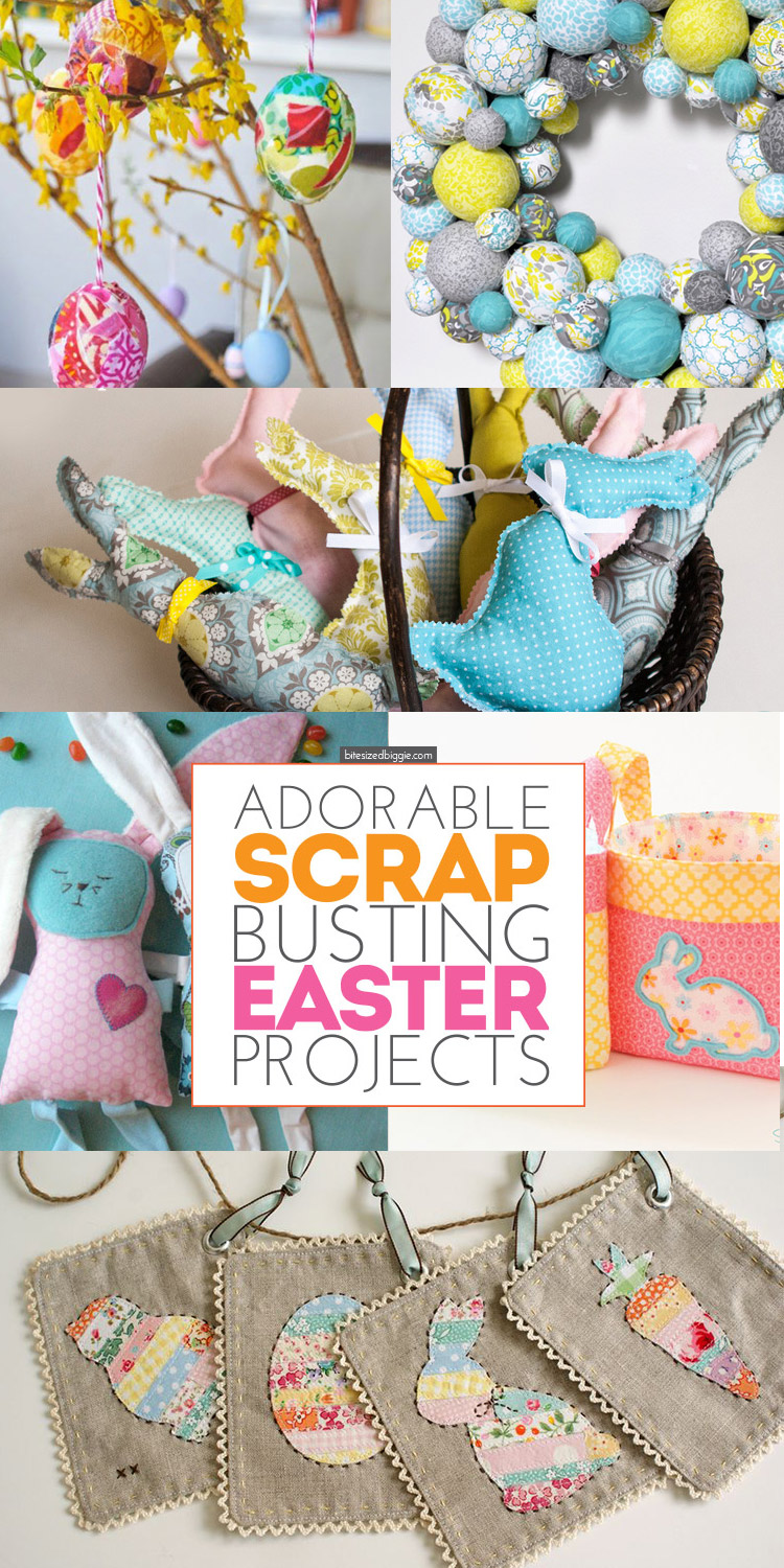 Adorable Easter Scrap Busting Projects