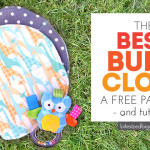 Free Burp Cloth Pattern – with Tutorial!