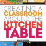 A Classroom at our Kitchen Table: Learning 24/7
