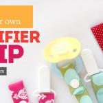 Simple Pacifier Clip Tutorial