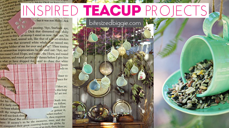 Inspired Teacup DIY Project Ideas