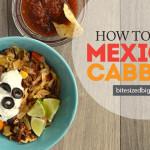 Delicious Mexican Cabbage Recipe