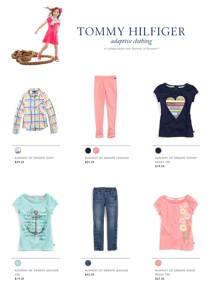 Tommy Hilfiger Adaptive Clothing for Special Needs Kids