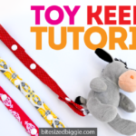 Easy DIY Toy Keeper Tutorial