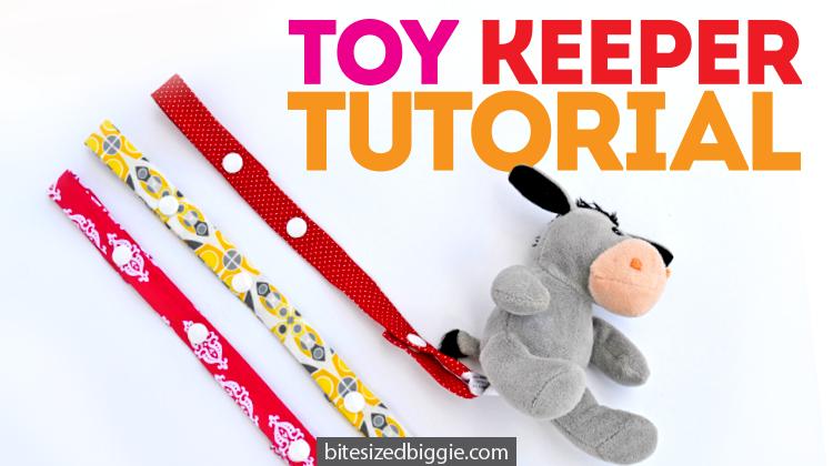 Easy Diy Toy Keeper Tutorial Bite Sized Biggie