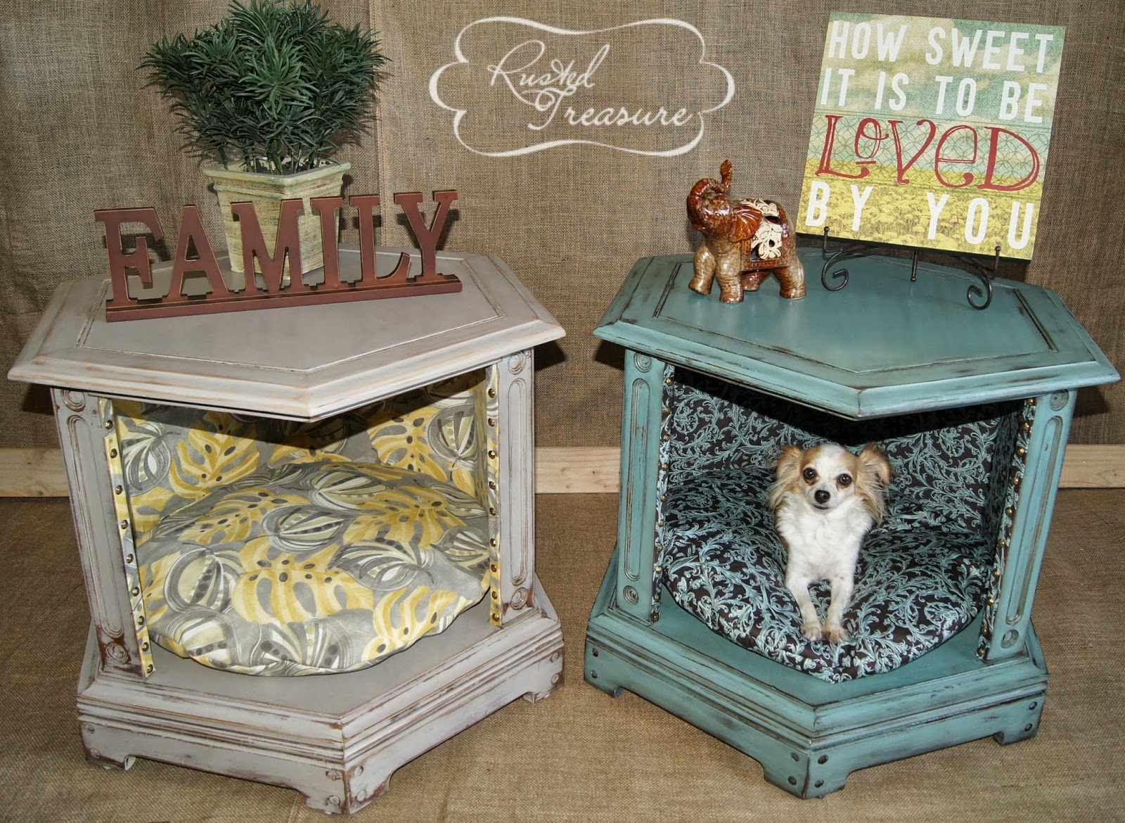 Diy Dog Beds From Old Furniture