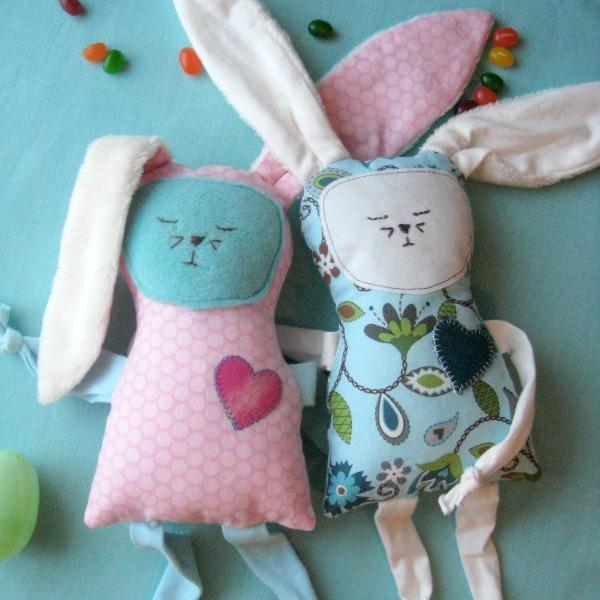 scrap floppy bunny