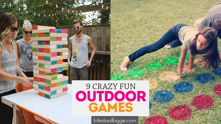9 RIDICULOUSLY FUN Outdoor Games for your next party or for family fun!