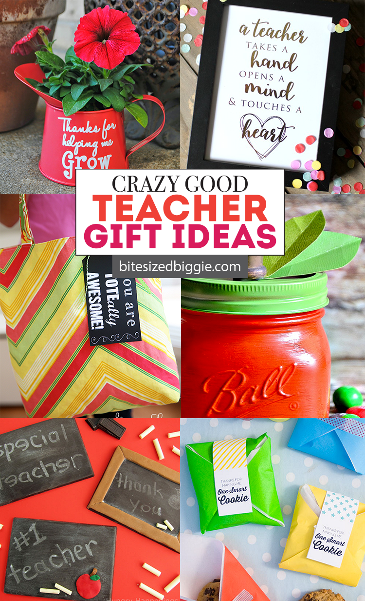 Crazy good teacher appreciation gift ideas for all seasons - gifts they'll love AND will use!