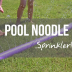 How to Make a Simple DIY Pool Noodle Sprinkler