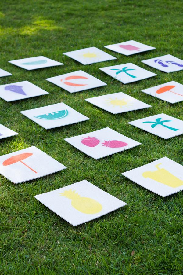 Memory Lawn Game