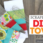 Super Scrappy Dish Towel Tutorial
