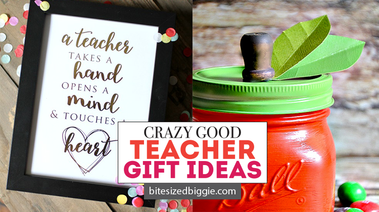 Super fun teacher appreciation gift ideas - gifts they'll love and actually use!