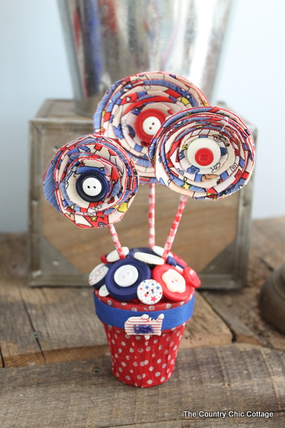 4th of July Decor Centerpiece