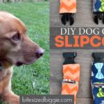 Dog Collar Slipcover Tutorial