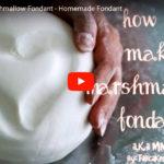 Make Your Own Easy Marshmallow Fondant