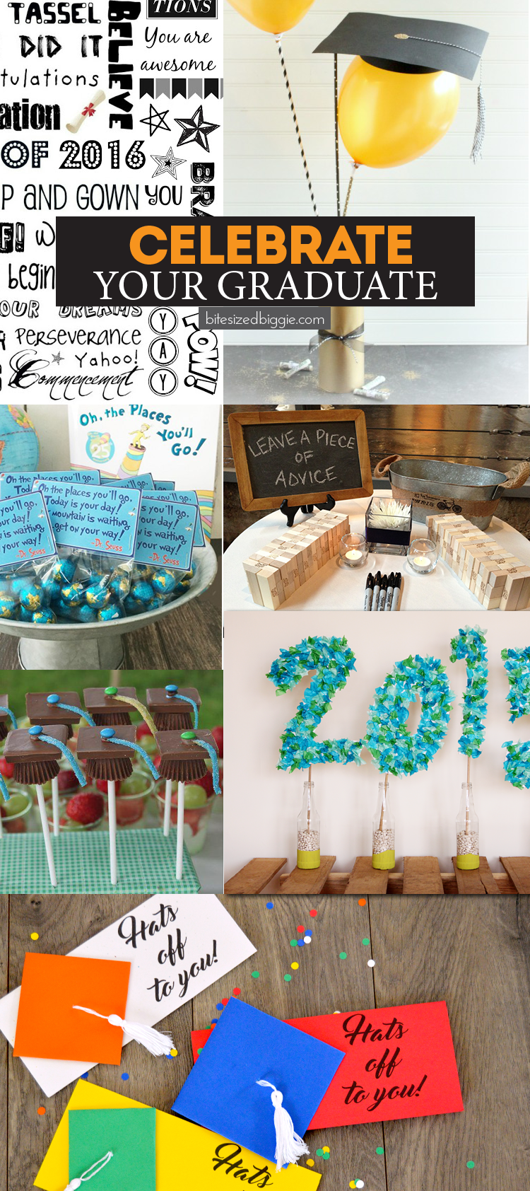 How to celebrate your graduate! Great ideas for gradution gifts and parties!