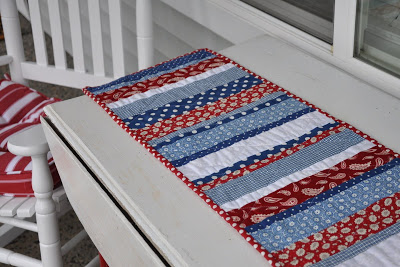 table runner patriotic