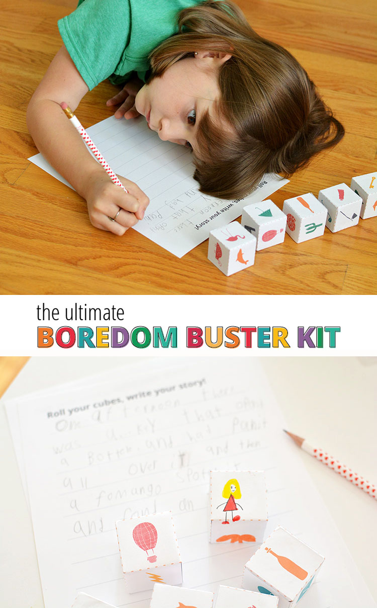 Boredom Busters Kit - save your sanity with these projects that are ready to download and print! Skip the searching!