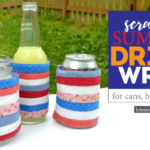 Scrappy Adjustable Summer Drink Wrap