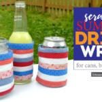 Scrappy Adjustable Summer Drink Wrap