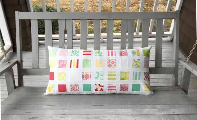 diy bench pillow