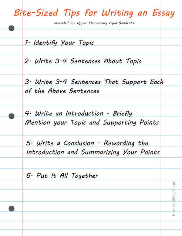 easy things to write an essay on Are you struggling to write an essay for a psychology class discover great tips and basic rules that will help you write a winning apa format essay.