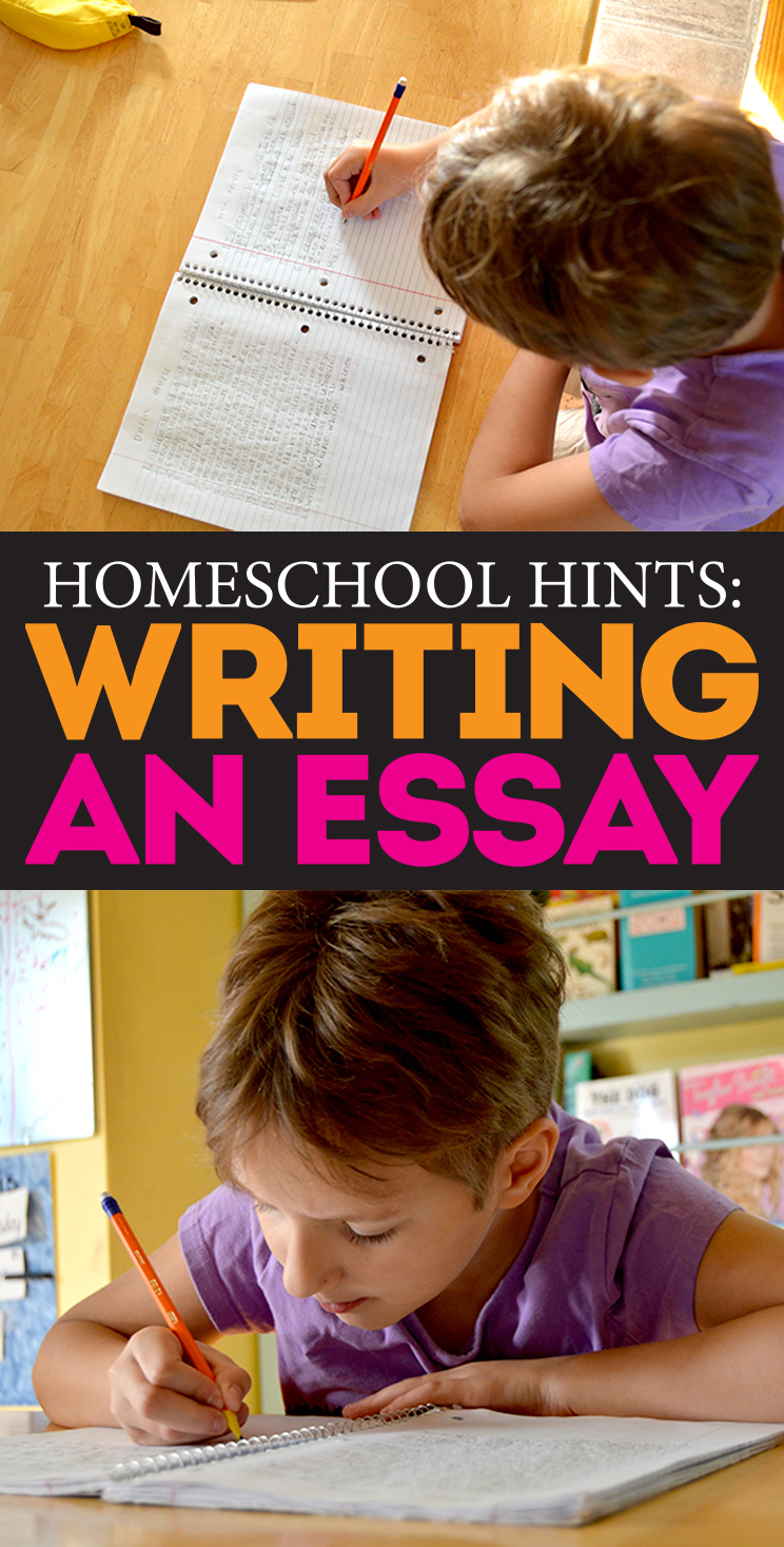 homeschool hints simple steps to writing a basic essay bite homeschool hints how to write an essay