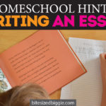 Homeschool Hints: Simple Steps to Writing a Basic Essay