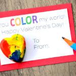 Easy DIY Crayon Valentine + Free Printable