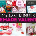 Last Minute Homemade Valentines