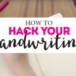 Transform Your Handwriting