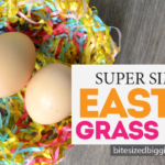 Easy DIY Easter Grass Nest