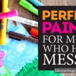 Perfect Paint for Moms Who Hate Messes!